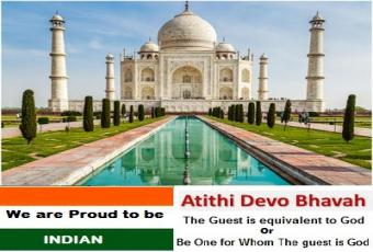 Visit India with us